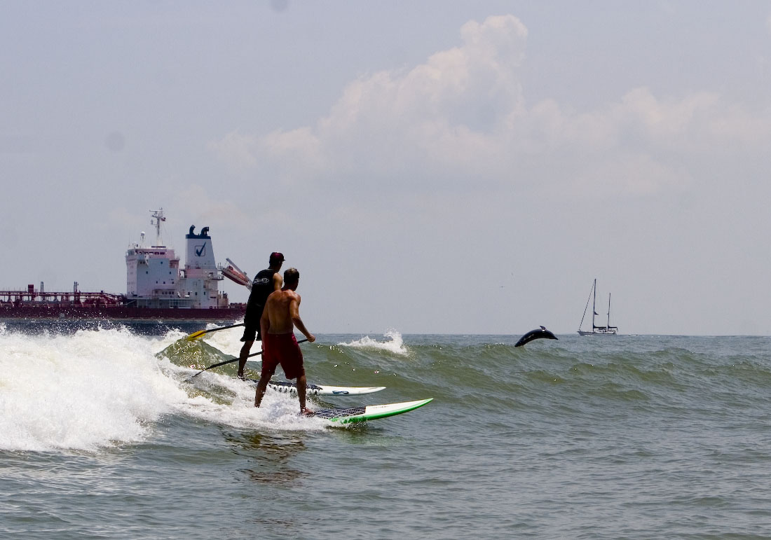 Infinity Surf Team Rips The Tanker Waves